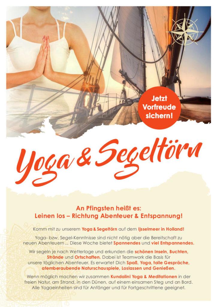 Yoga und Segeln